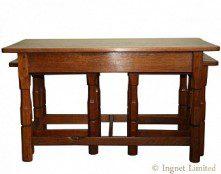 COLIN BEAVERMAN ALMACK NEST OF YORKSHIRE OAK TABLES