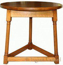 WILF SQUIRRELMAN HUTCHINSON OF HUSTHWAITE OAK CRICKET TABLE