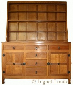 ROBERT MOUSEMAN THOMPSON WELSH OAK DRESSER 1