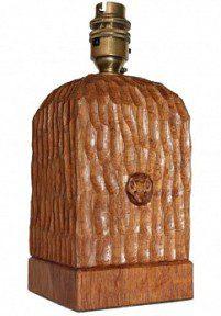 MALCOLM PIPES OF CARLTON HUSTHWAITE FOXMAN TABLE LAMP
