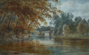 EDWARD ARDEN (TUCKER) 1847-1910 OLD MILL BARNARD CASTLE 1