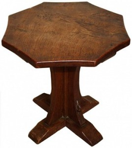ROBERT MOUSEMAN THOMPSON EARLY BURR WINE TABLE 1