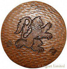 THOMAS GNOMEMAN WHITTAKER CARVED LARGE CIRCULAR STOOL /TABLE