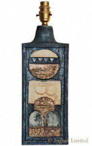 TROIKA LARGE RECTANGULAR TABLE LAMP AVRIL BENNET 1