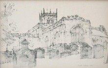 DOUGLAS PITTOCK 1911-1993 ST MARYS CHURCH BARNARD CASTLE