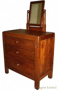 ROBERT MOUSEMAN THOMPSON EARLY DRESSING CHEST OF DRAWERS 1