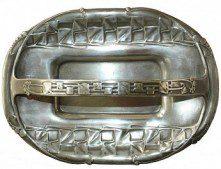 LIBERTY & CO. PEWTER CAKE BASKET DESIGNED BY ARCHIBALD KNOX