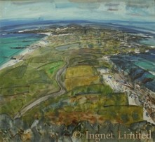 MIKE HEALEY (SCOTTISH BORN 1951) OIL COLONSAY