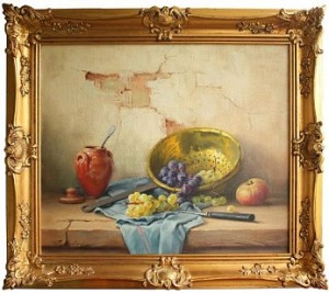ROBERT CHAILLOUX FRENCH STILL LIFE 1913-2006 1