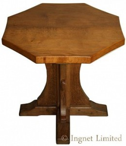 ROBERT MOUSEMAN THOMPSON MODERN COFFEE TABLE OF OCTAGONAL DESIGN 1