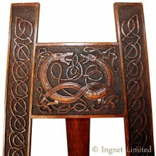 ARTS & CRAFTS OAK EASEL ATTRIBUTED TO ALEXANDER RICHIE