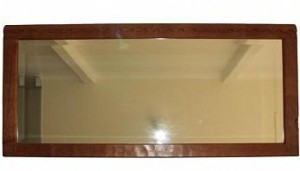 ROBERT MOUSEMAN THOMPSON LARGE LANDSCAPE ADZED MIRROR 1