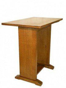 GORDON RUSSELL SIGNATURE GOLDEN OAK STRETCHER TABLE