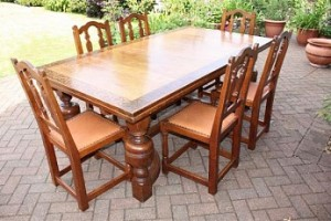LIBERTY & CO ARTS & CRAFTS OAK EXTENDING DRAW LEAF DINING TABLE UPTO 11 FT LONG 1