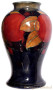 b2641 Moorcroft Pomegranate Vase