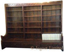 Bookcase Settle